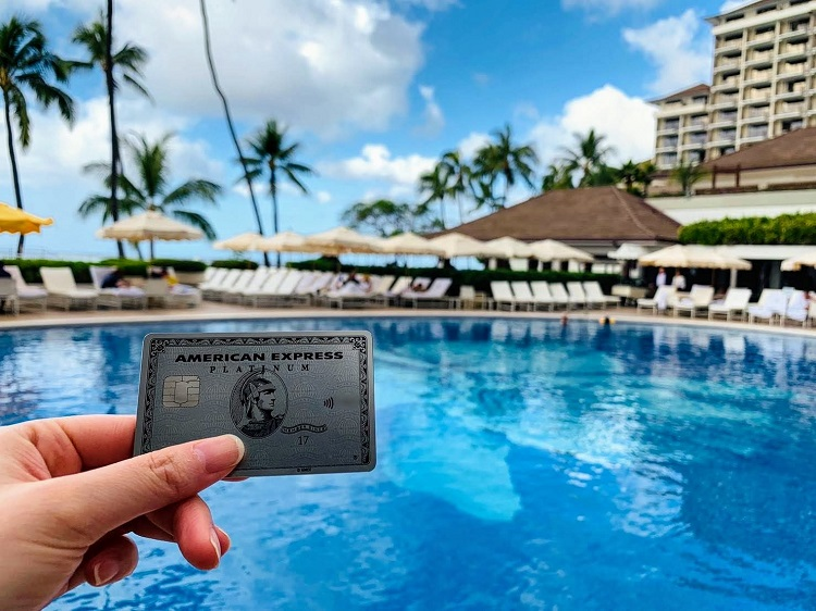 アメックス・プラチナ メタルカード ホテル撮影