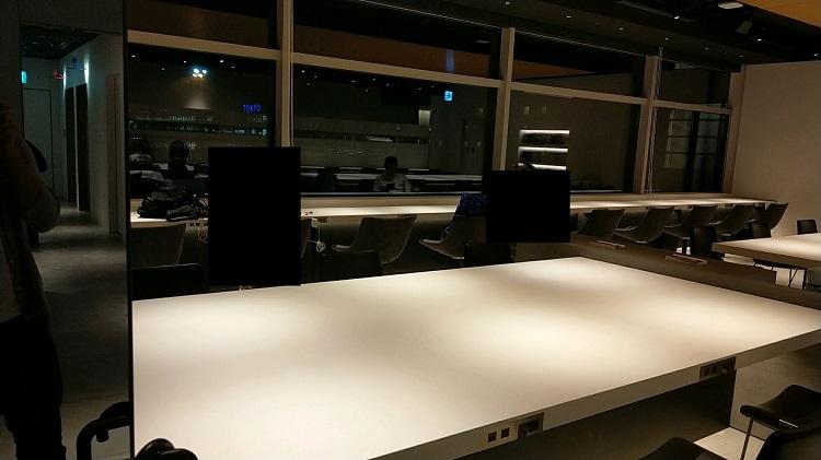羽田空港 ターミナル2 POWER LOUNGE 内観2