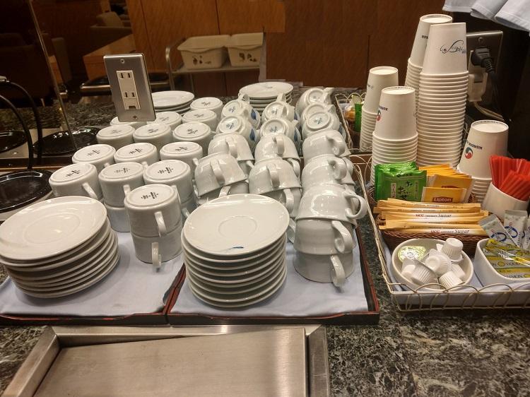 KAL LOUNGE 紅茶、日本茶