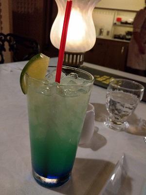 BLUE BAYOU ドリンク