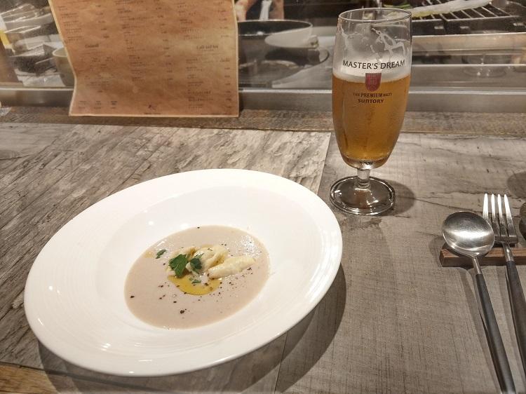 BRUCIA BRUCIA 栗のスープ