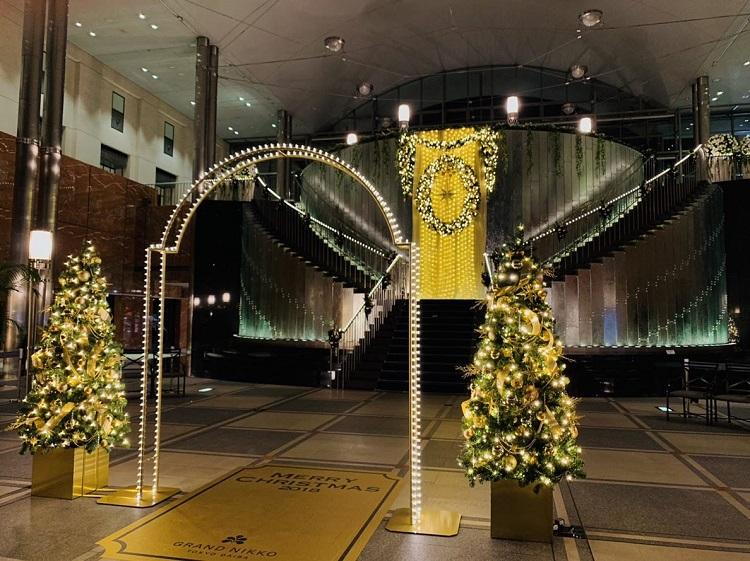 グランドニッコー東京 クリスマスツリー