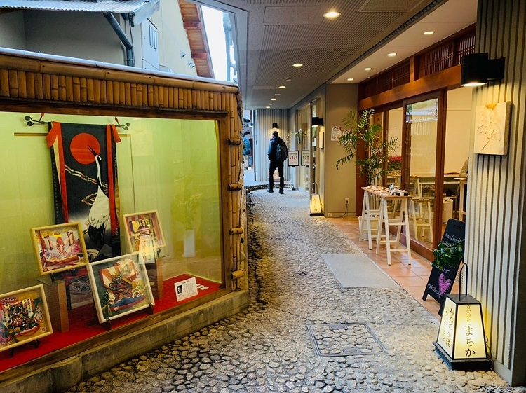 京都特別観光ラウンジ入口2