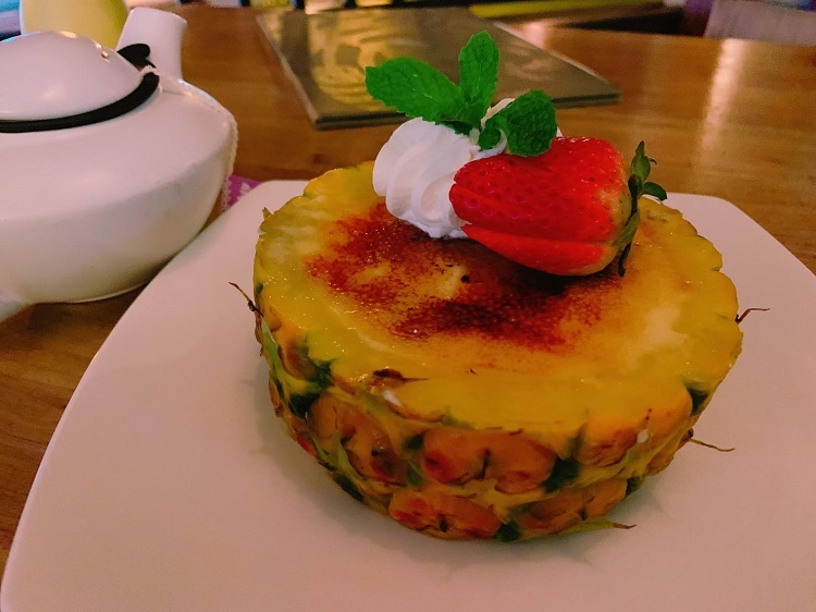 トミーバハマ パイナップルのクリームブリュレ