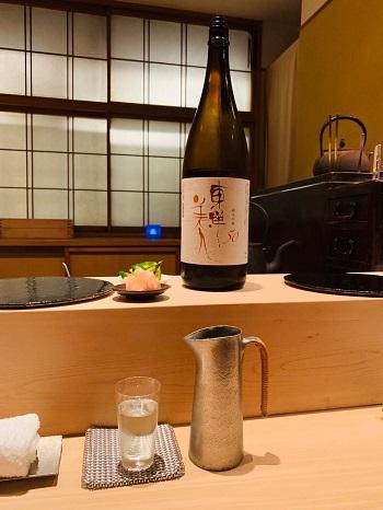 鮨なかむら 日本酒