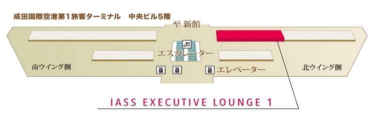 成田空港 5F マップ