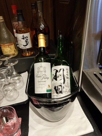 TIAT LOUNGE 日本酒「羽田」