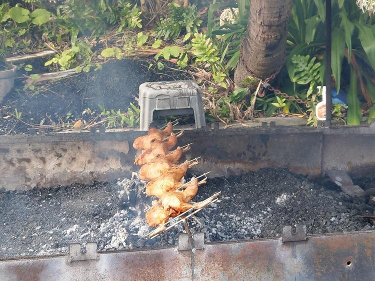 コーラルキングダム 鳥の丸焼き