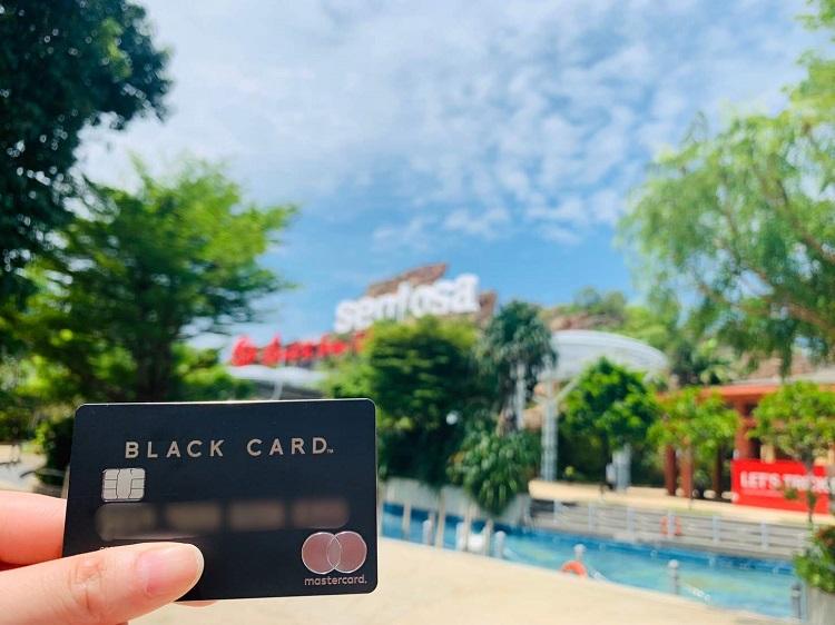 ラグジュアリカード Black Card セントーサで撮影