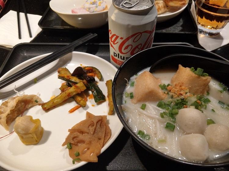 Plaza Premium Lounge 食事1
