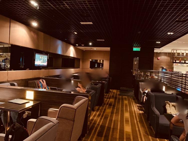 Plaza Premium Lounge 内観