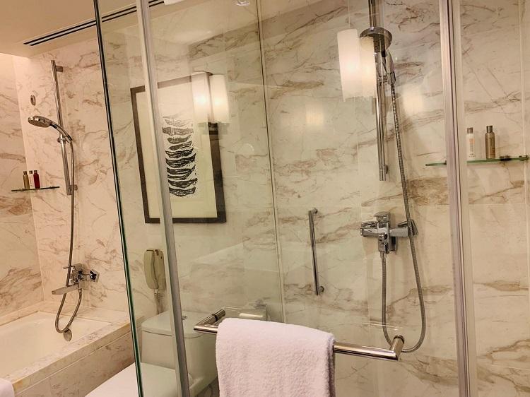 香港スカイシティ・マリオットホテル シャワー