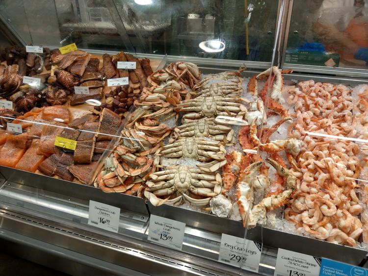 ホールフーズマーケット(Whole Foods Market) 魚介