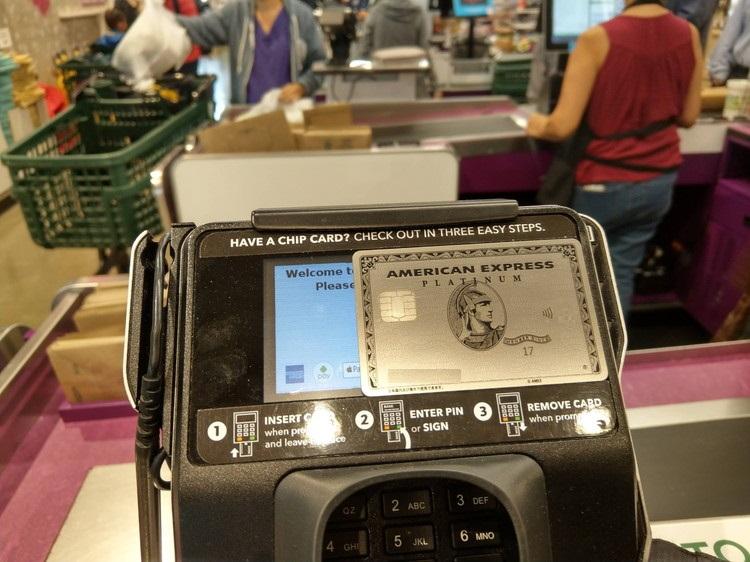 ホールフーズマーケット(Whole Foods Market) コンタクトレス決済