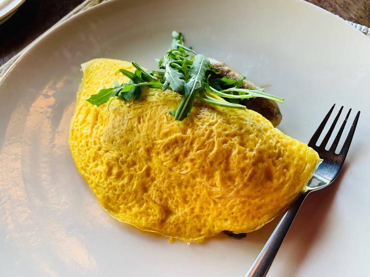 クドゥス(KUDUS) 朝食 オムレツ
