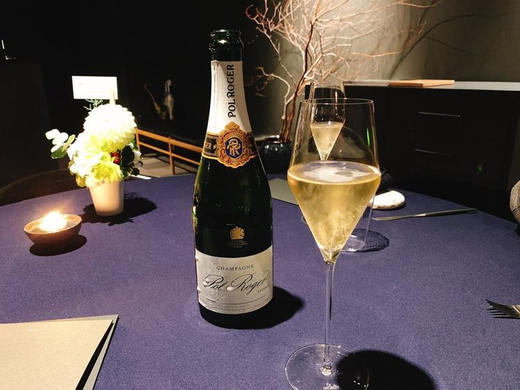 abysse シャンパン「ポル ロジェ」