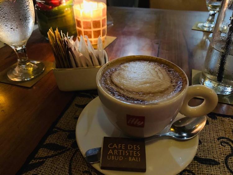 Cafe des Artistes コーヒー