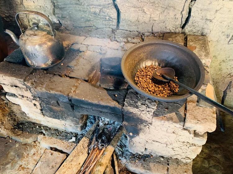 バリ・プリナ コーヒー豆の焙煎