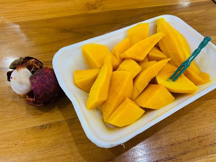 マンゴーとマンゴスチン