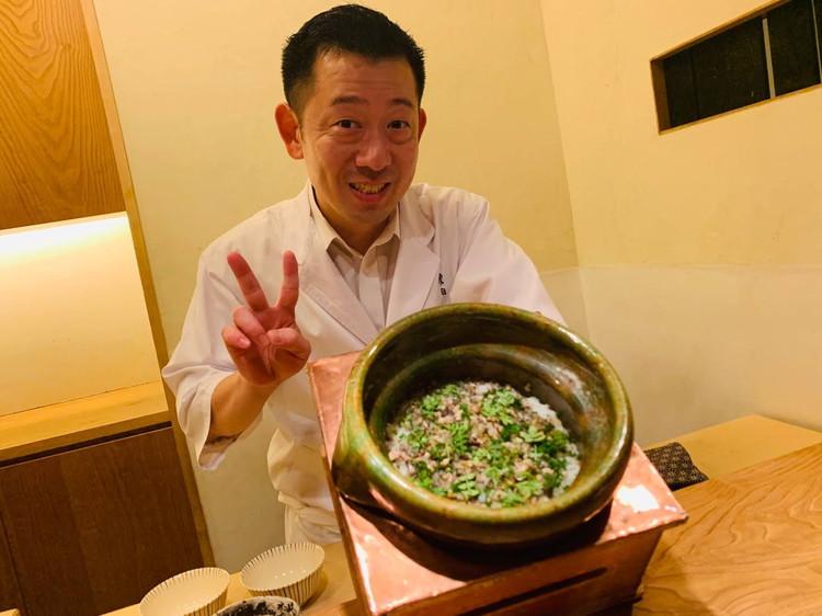 虎白 すっぽんの炊き込みご飯2