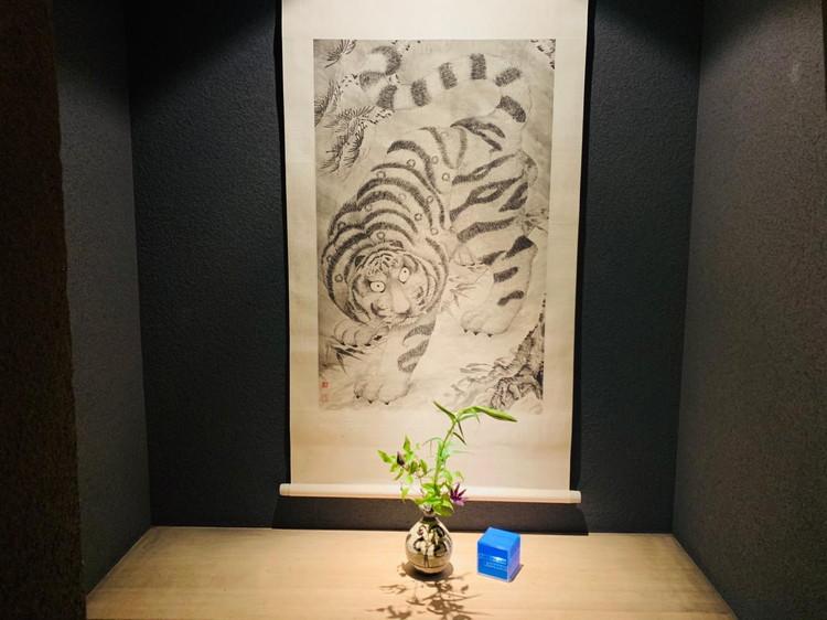 虎白 入口