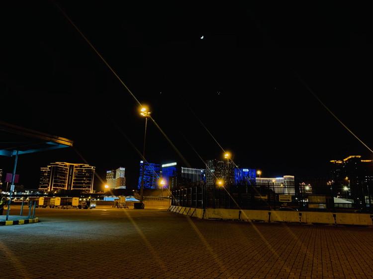 マカオ空港 夜景