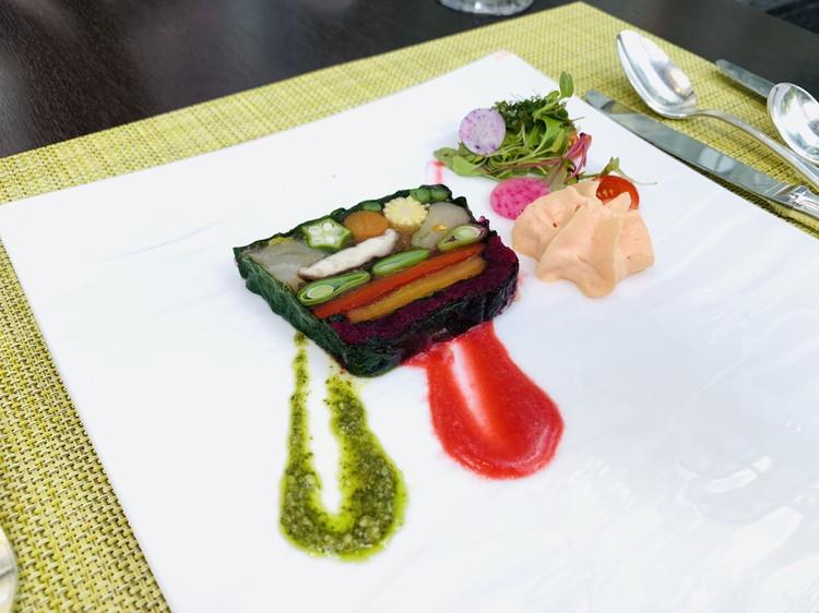 アマデウス 野菜ソムリエの作る野菜のテリーヌ