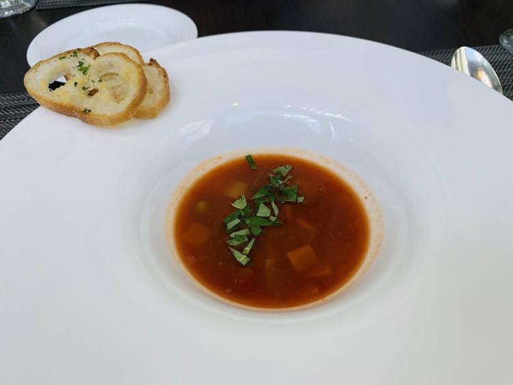 アマデウス 冷製 野菜たっぷりミネストローネ