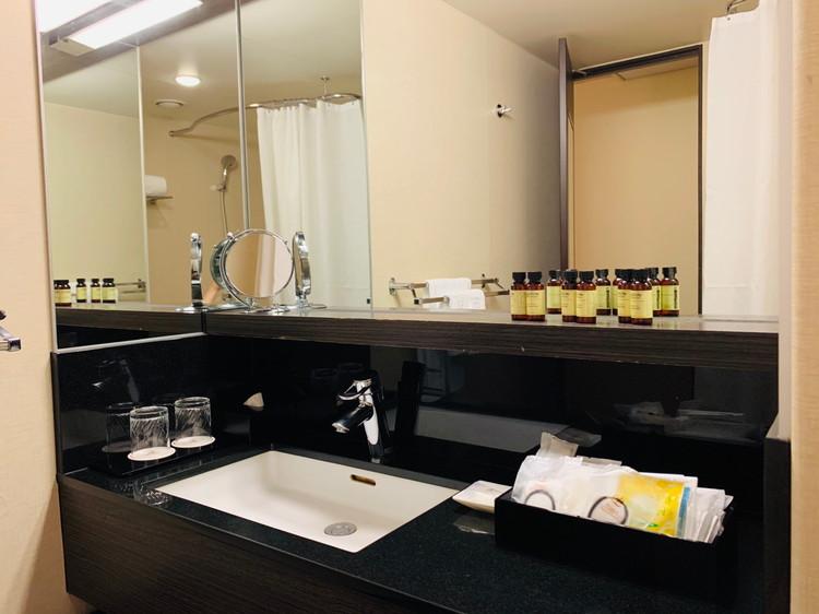 グランドプリンスホテル新高輪 スーペリア モダンキング 洗面台