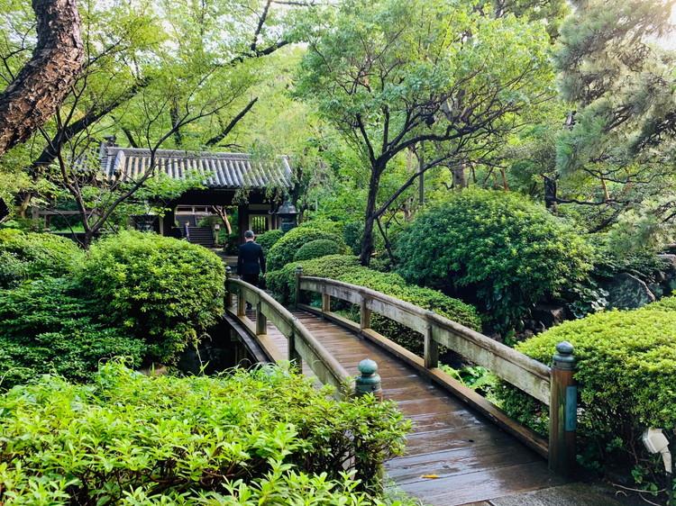 グランドプリンスホテル新高輪 日本庭園1