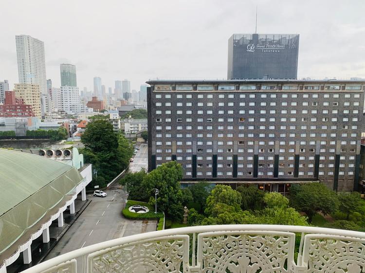 グランドプリンスホテル新高輪 スーペリア モダンキング 展望
