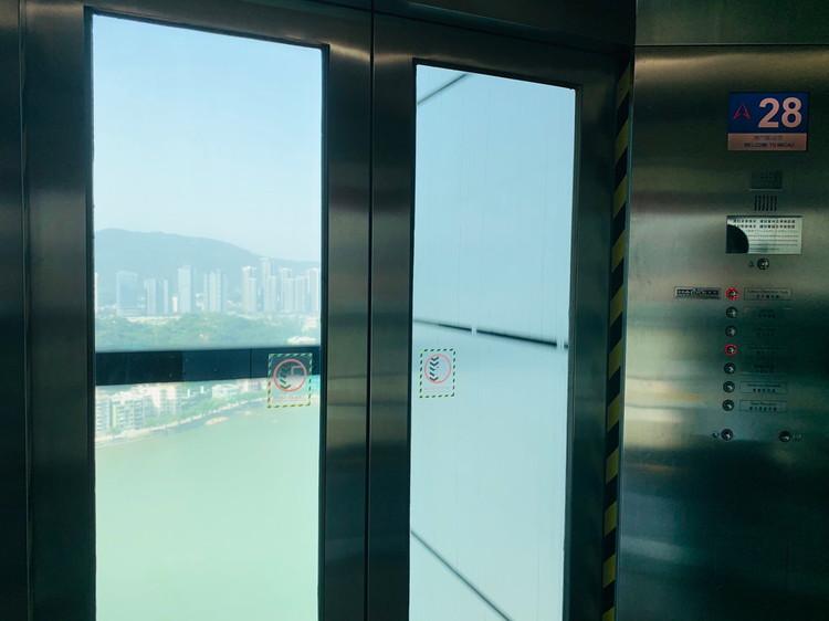 マカオ・タワー エレベーター