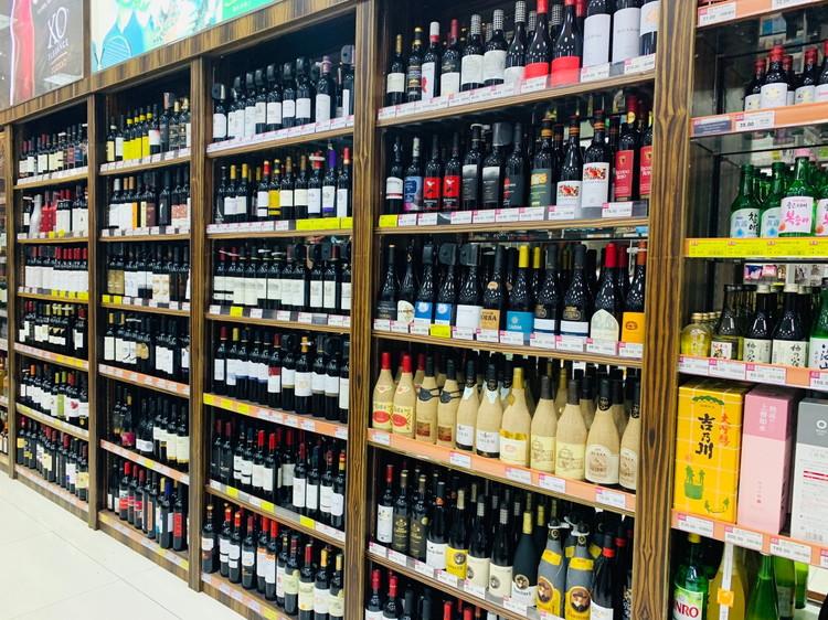 Royal Supermarket ワイン売り場