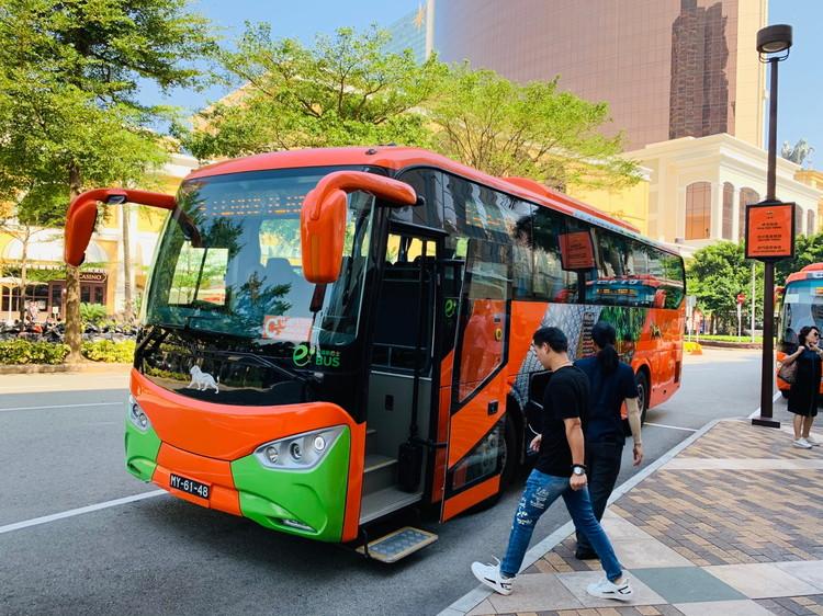 MGMマカオ~空港のシャトルバス