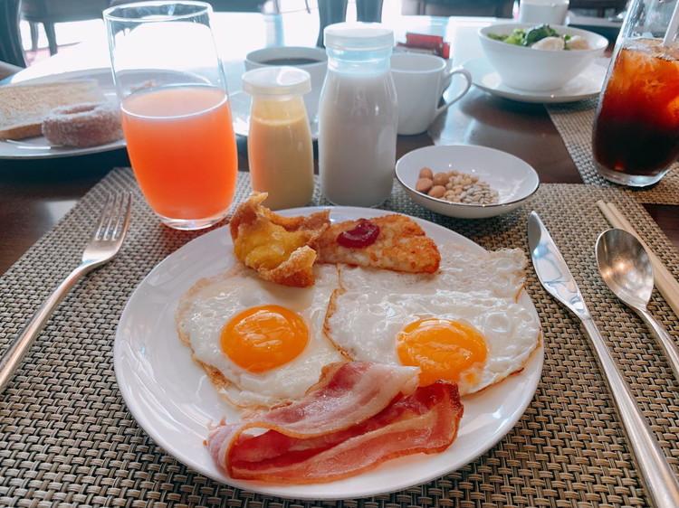 ヴィダ リカ レストラン 朝食 3日目のお皿2