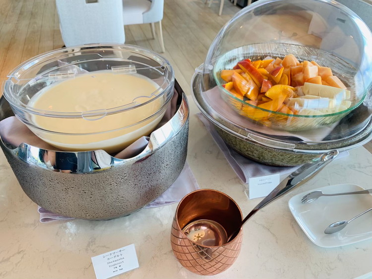 TIN'IN 朝食 フルーツ
