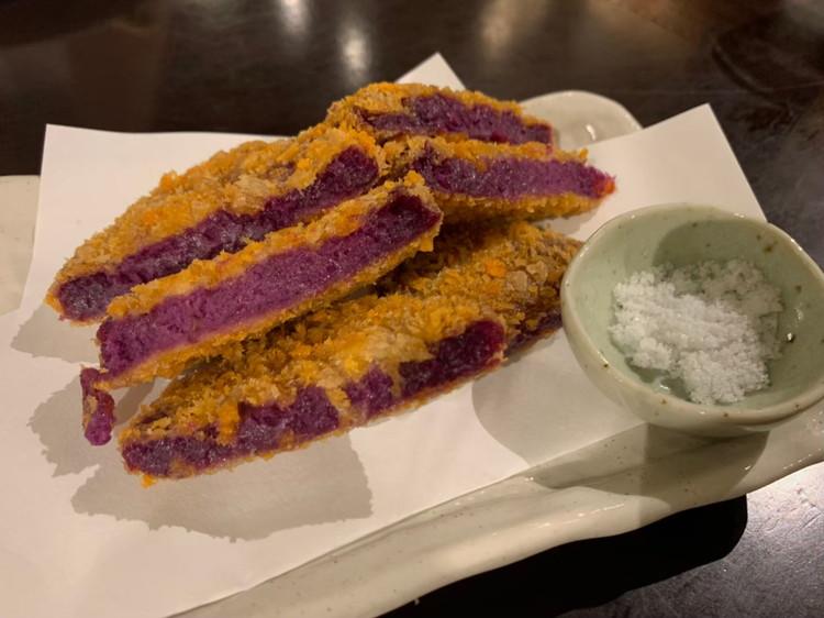 紫芋コロッケ