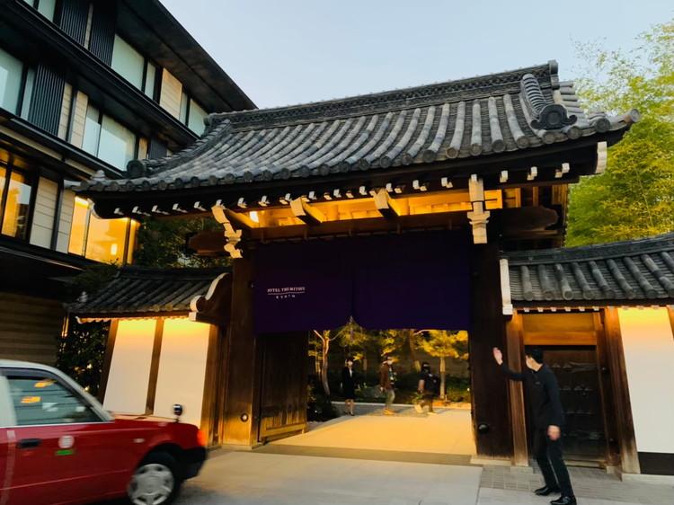 HOTEL THE MITSUI KYOTO 外観