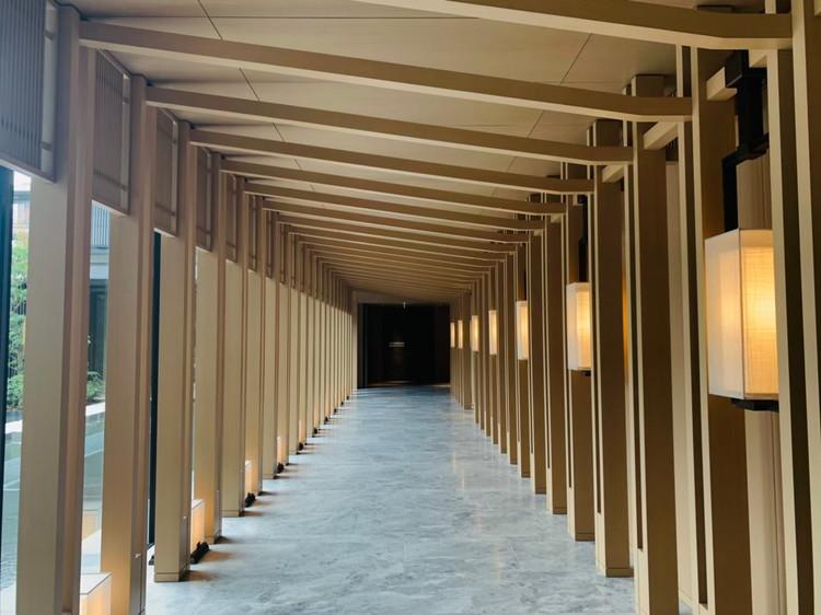 HOTEL THE MITSUI KYOTO 廊下
