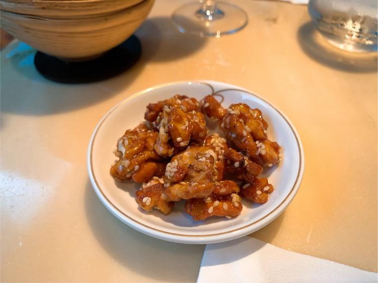ヘイフンテラス 胡桃の飴炊