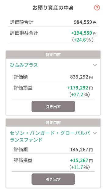 tsumiki証券 保有銘柄詳細