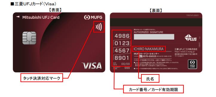 三菱UFJカード VISA